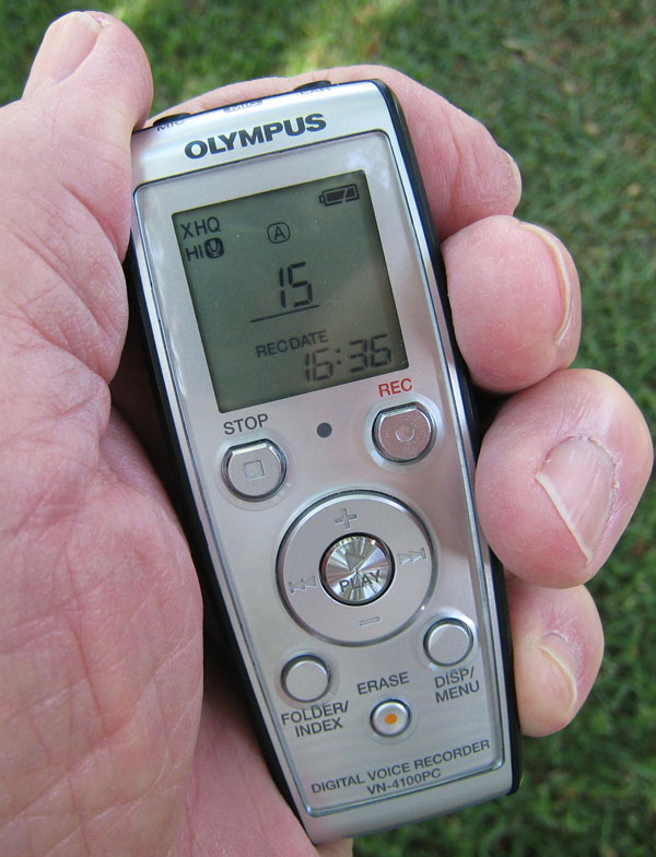 Olympus voice recorder vn 8100pc manual